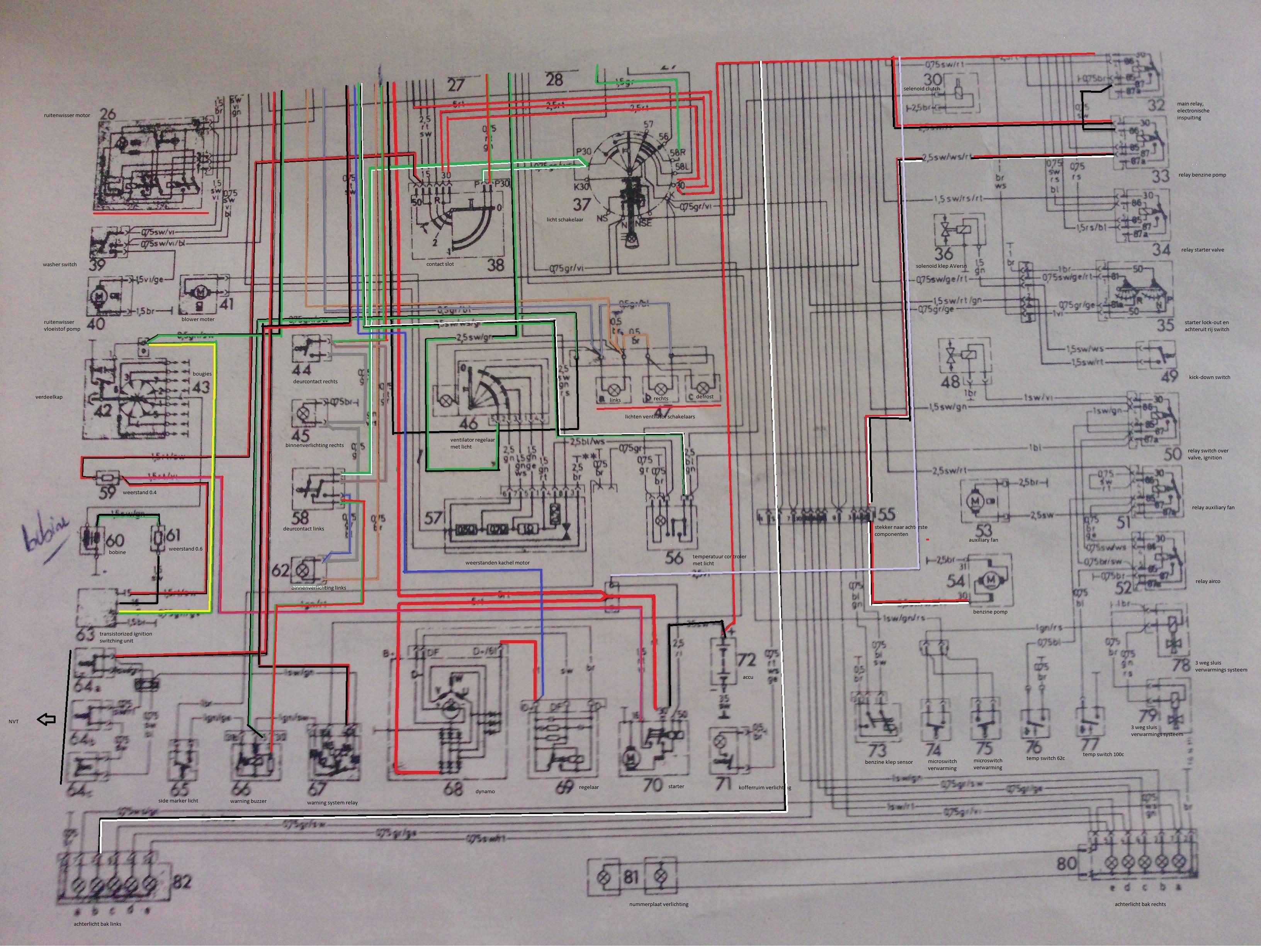 club car schematic diagram mb r c 107    club    nederland  mb r c 107    club    nederland